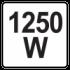 1250W