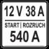 12V 38A 540A