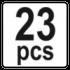 23 PCS