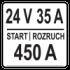 24V 35A 450A