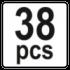 38 PCS