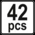 42 PCS