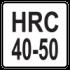HRC 40 - 50mm