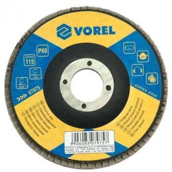 DISC ABRAZIV P120 115MM  Vorel 07978