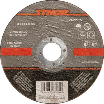 Disc debitat metale 115 x 3 x 22.2 mm Sthor 08185