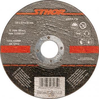 Disc slefuit metale 115 x 6 x 22.2 mm Sthor 08190
