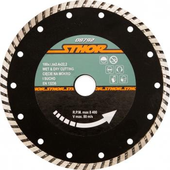DISC DIAMANTAT TURBO 115X2.7MM H7 Sthor 08790