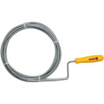 Șarpe pentru desfundat țevi 1.5 m, 5 mm Vorel 55541