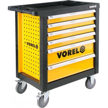 Dulap cu scule echipat complet cu 6 sertare 177 piese Vorel 58540