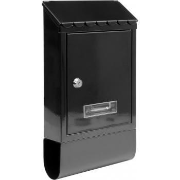 Cutie poștală 380 x 210 x 60 mm neagră Vorel 78565