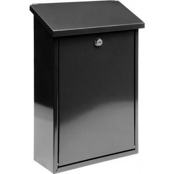 Cutie poștală 400 x 250 x 100 mm neagră Vorel 78570