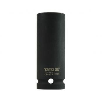 """Cheie tubulară de impact lungă 21 mm 1/2"""" Yato YT-1041"""