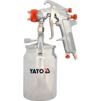 PISTOL DE VOPSIT CU REZERVOR METALIC  1L Yato YT-2346