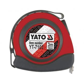 Ruletă 3m x 16 mm nylon magnet  Yato YT-7103