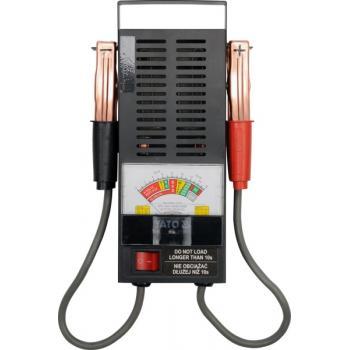 Tester acumulator analog 6/12 V  Yato YT-8310