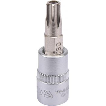"Bit torx T30 cu adaptor 1/4"" 37 mm Yato YT-04306"
