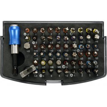 Trusa 59 de biti cu adaptor Yato YT-04624