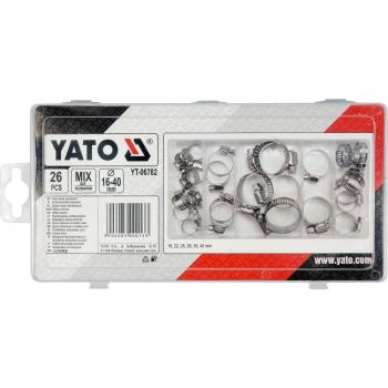 Set 26 coliere pentru furtun Yato YT-06782