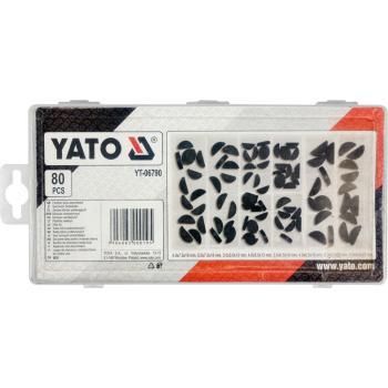 Set pene disc pentru îmbinări arbore 80 bucăți Yato YT-06790