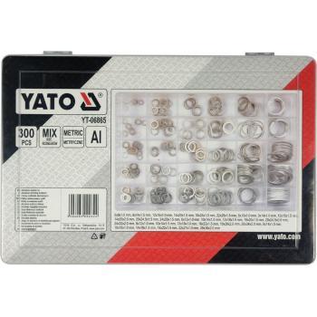 Set șaibe aluminiu 300 bucăți Yato YT-06865