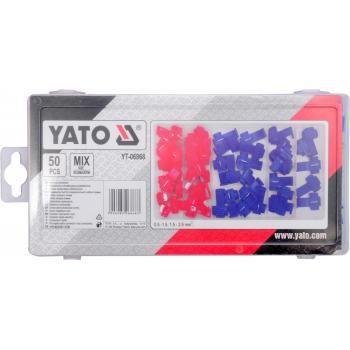 Set conectori rapizi auto 50 bucăți Yato YT-06868