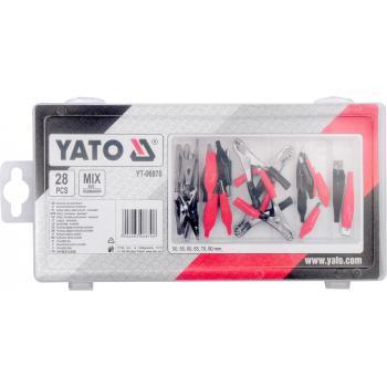 Set cleme pentru electricieni 28 bucăți Yato YT-06870