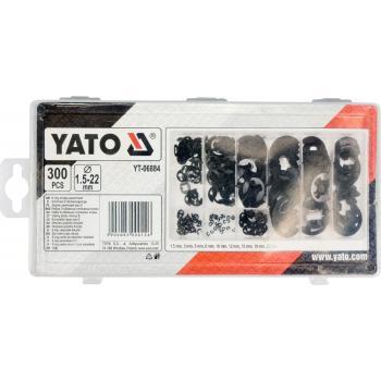 Set coliere seger alezaj 300 bucăți Yato YT-06884