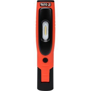 Lampă cu LED-uri SMD 3.5 W și 3 W cu acumulator Yato YT-08508