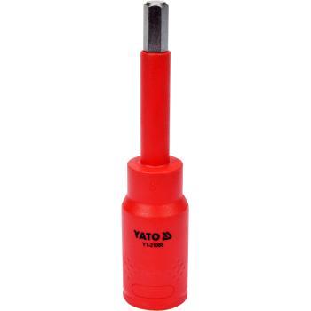 """Bit hex 8 mm cu adaptor 1/2"""" 120 mm VDE Yato YT-21088"""