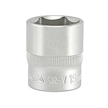 """Cheie tubulară hexagonală 19 mm 3/8"""" Yato YT-3814"""
