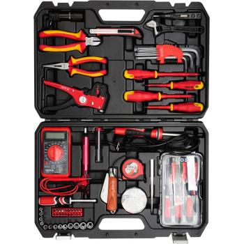 Trusă scule electrician 68 piese Yato YT-39009