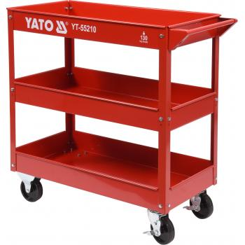 Carucior pentru atelier, 3 tavi Yato YT-55210