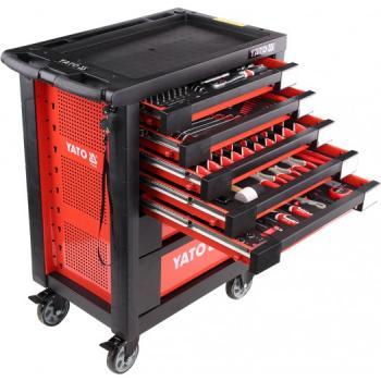 Dulap cu scule profesional echipat complet cu 7 sertare 211 piese Yato YT-55290