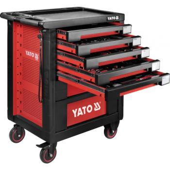 Dulap cu scule profesional echipat complet cu 7 sertare 189 piese Yato YT-55292