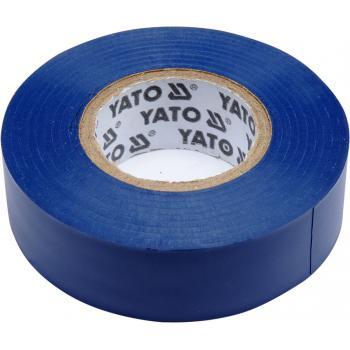 Bandă izolatoare albastră 19mmX20mX0,13mm Yato YT-81651
