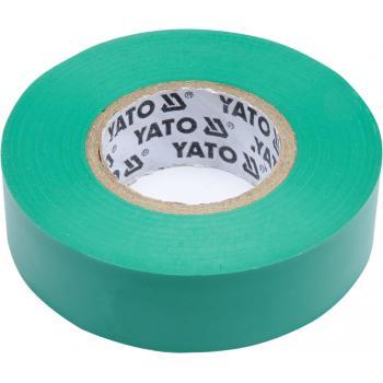 Bandă izolatoare verde 19mmX20mX0,13mm Yato YT-81652