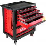 Dulap cu scule Yato profesional echipat complet cu 6 sertare 177 piese YT-5530